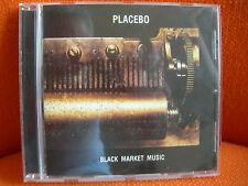 CD – PLACEBO: BLACK MARKET MUSIC – 2000 ELECTRO ROCK POWER POP – HUT + VIRGIN