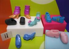 6 pair Polly Pocket Soft Boots/Shoes-fits Littlest Pet Shop Blythe Doll -Lot #11