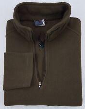 Spyder Pullover Small Olive Green Mens Fleece 1/4 Quarter Zip Size S Sz Logo Man