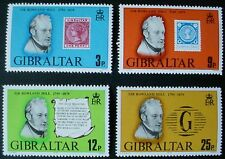GIBRALTAR 1979: DEATH CENTENARY OF SIR ROWLAND HILL: SET OF 4 MNH STAMPS