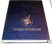 2006 USS ENTERPRISE CVN-65 U.S NAVY ORIGINAL CRUISE BOOK.