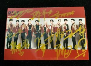 R1SE Signed Autographed Group Photo Pictures Gifts Collection 4*6 Singers 2020A