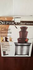 """Sephra Classic Stainless Steel Chocolate Fountain 18"""" Model CF18L-SST"""