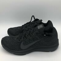 Nike Wmns Zoom Winflo 5 Running Womens Shoes Black/Anthracite AA7414-002 Size