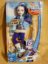 DC SUPER HERO GIRLS FROST 12-Inch ACTION DOLL WITH  STUDENT ID CARD BRAND NEW