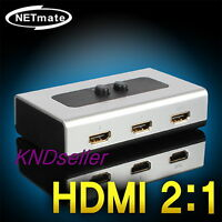 2Port HDMI  High Quality Manual Selector  Switch 2-WAY Switcher BOX 1080P LCD TV