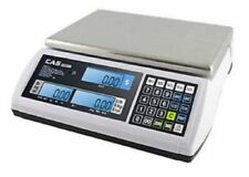 Cas S-2000 Jr Series Price Computing Scale Lcd Display 60Lb