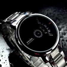 Sale Creative Mens Watches Stainless Steel Military Sports Quartz Wrist Watch