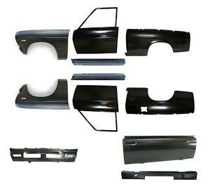 FITS Nissan Datsun SUNNY B110 120 1200 PICK UP REPAIR BODY METAL SET NEW 11 PCS