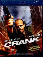 NEW BLU-RAY // CRANK // Jason Statham, Amy Smart, Jose Pablo Cantillo, Efren Ram