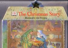 DK ~ THE CHRISTMAS STORY ~ Large SHAPE Board Book ~ 1999