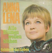 """7"""" Anna Lena Alle Blumen wollen blühen / Schön ist das Leben 60`s Metronome"""