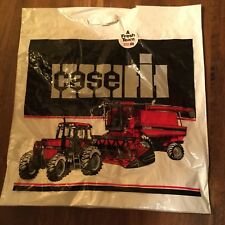 Case IH Tractor Combine Advertising Bag. 1985 Merger Year Edition.