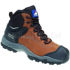 Himalayan Safety Boots, Waterproof, Composite Toe Cap, S3 Nubuck  Metal Free