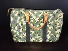LOUIS VUITTON Monogram Monogramouflage Camouflage Camo Murakami SPEEDY 35 Bag