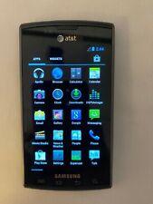 Samsung Captivate SGH-I897 - 16GB - Black AT&T Smartphone Excellent - Read Descr