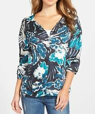 Sanctuary Top Talla G Bloomsbury Multi Lara estampado y manga larga Trabajo