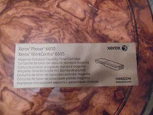XEROX PHASER 6600 /XEROX WORKCENTRE 6605 MAGENTA  STANDARD TONER