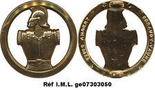 Insigne de béret, GENIE, dos lisse plat, 2 pontets, Béraudy Vaure (1436)