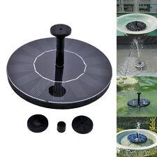Solar Power Fountain Water Pump Floating Garden Pond Pool Fish Tank Bird Bath US