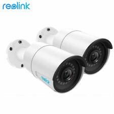 Reolink Rlc-410 5Mp/4Mp PoE Security Ip Camera Audio Mic Indoor Outdoor Card Slo