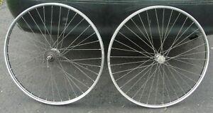 "Schwinn 26"" X 1 3/8"" S-5 Wheel Set With ""STURMEY ARCHER"" 3 Speed Rear Hub"