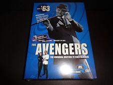 THE AVENGERS 63 Collection-Set 2-Original British TV Cult Classic-Honor Blackman