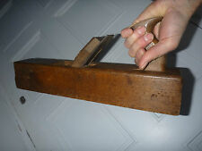 wood plane  a big one unnamed wax polished   ready to use or display    cheap !!