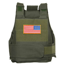 TACTICAL AIRSOFT PAINTBALL BODY ARMOR VEST OD GREEN-33694