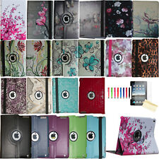 360 Rotating Stand Smart Cover Magnetic Case for Apple iPad 2019