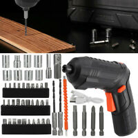 45 in 1 Power Tool Set Rechargeable Cordless Electric Screwdriver Drill Set-Tool