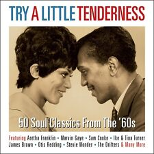 Try A Little Tenderness VARIOUS ARTISTS 50 Soul Songs From The 60s BEST New 2 CD