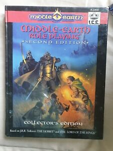 2nd edition core rules hard cover middle-earth MERP RPG  I.C.E