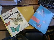 lot de 3 livres sur les papillons : papillons tropicaux - beaux papillons