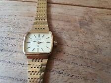Citizen Gold Plated Ladies Watch,new Battery, Good Condition