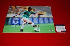 Gio Giovani Dos Santos mexico world cup soccer signed Psa/Dna 11X14 La Galaxy 4