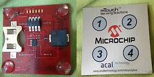 Microchip PICDEM mTouch Demo Board Evkit Sensing Solutions PIC32 Pic Arduino Diy