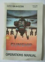 51173 Instruction Booklet - Gunship - Amstrad CPC (1986)