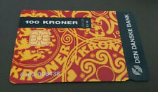 1996 100 KR - DANMONT CASH CARD - DEN DANSKE BANK - MINT - RARE
