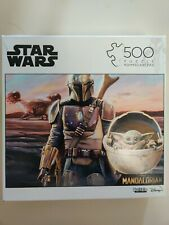 """STAR WARS The Mandalorian """"This is the Way"""" Baby Yoda 500 Piece Puzzle"""