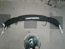 Chaparral 237SSX Bimini top - Black with diamond bk tower