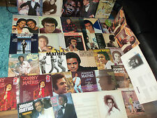 JOHNNIE MATHIS x  44 ALBUMS - JOB LOT - IMPORT -  £25 THE LOT