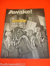 AWAKE! - IS ATHEISM ON THE MARCH - NOV 2010