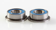 3x6x2.5mm Flanged Ceramic Ball Bearing MF63 Flanged Ceramic Bearing 2 pieces
