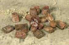 Mig Productions 1/35 Burnt Out German Jerrycans (18 pieces - 6 types) 35-299