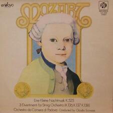 Mozart(Vinyl LP)Eine Kleine Nachtmusik/3 Divertimenti-Pye-NEL 2009-Spain-VG+/NM