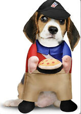 Pizza Man Delivery Costume For Dogs, Size Small