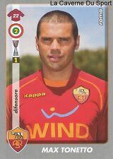 MAX TONETTO ITALIA AS.ROMA RARE UPDATE STICKER CALCIATORI 2009 PANINI