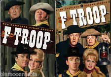 F Troop DVD Complete tv Series lot Seasons 1 & 2 First Second 12 Disc Set NEW