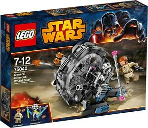 LEGO Star Wars General Grievous' Wheel Bike #75040 BNIB 2014 Release ***RARE***